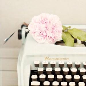 typewriterflower