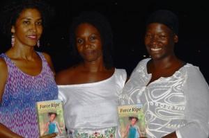 With Oonya and Ayisha